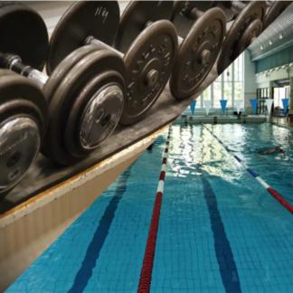 Uinti + kuntosali opiskelijat, varusmiehet, työttömät ja eläkeläiset 10 kpl (5184)